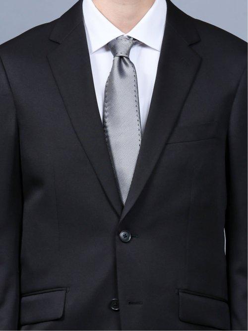 ストレッチウォッシャブル シャドーチェック柄レギュラーフィット2ピーススーツ