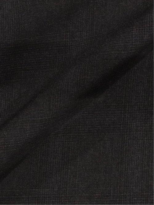 ストレッチウォッシャブル スリムフィット2ボタン2ピーススーツ グレンチェック紺