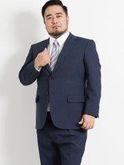 【大きいサイズ】グランバック/GRAND-BACK トラベスト/TRABEST 千鳥グレー 2パンツスーツ