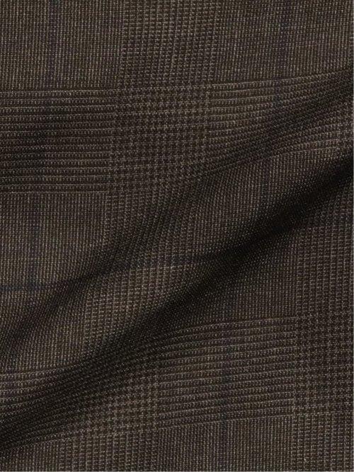 マルゾット/MARZOTTO ウール スリムフィット2釦3ピーススーツ グレーカラーペーン