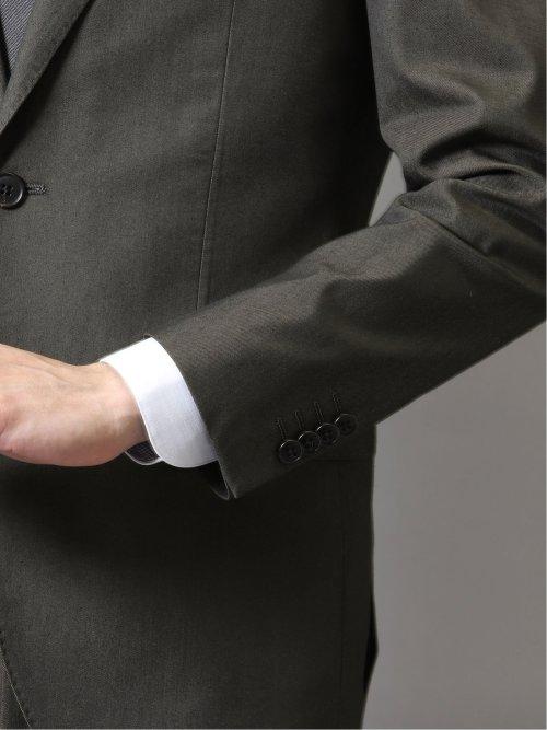 ゼロアイロン レギュラーフィット2ボタン2ピーススーツ グレー