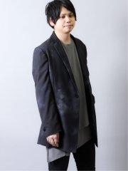 シェラック/SHELLAC 斑プリント シングルジャケット