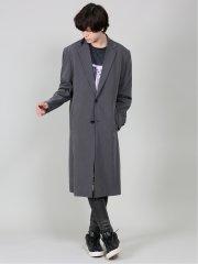 【WEB限定カラー】シェラック/SHELLAC ZIPロングジャケット