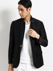 スリムフィット2ボタン 衿ベルトデザインジャケット