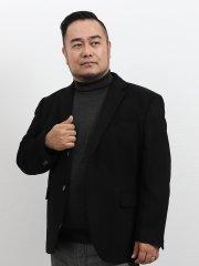 【大きいサイズ】グランバック/GRAND-BACK カシミヤ混ウール2釦テーラージャケット