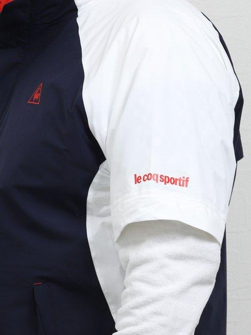 【大きいサイズ】ルコックスポルティフ ゴルフ/le coq sportif GOLF レインウェア(上下セット)
