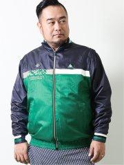 【大きいサイズ】ルコックスポルティフ ゴルフ/le coq sportif GOLF ピクセルクロス袖ディタッチャブルBL