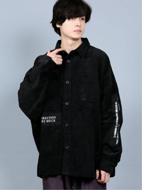 コーデュロイ CPO長袖シャツ