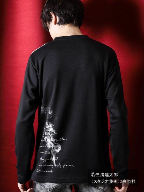 ベルセルク/BERSERK×SD プリントVネック長袖Tシャツ