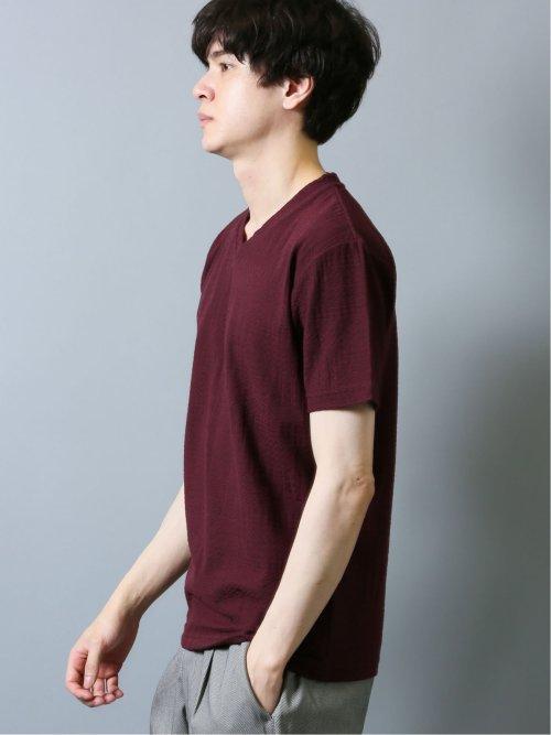ランダムリンクス Vネック半袖Tシャツ