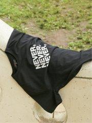 プリント クルーネック半袖Tシャツ