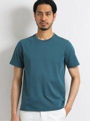 シルケットポンチ ドレスクルーネック半袖Tシャツ