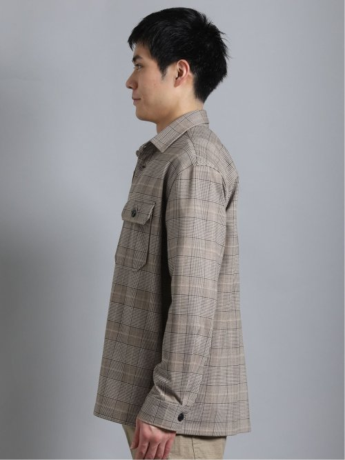 ストレッチポンチ CPO長袖カットシャツ