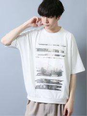 グラフィックアート タックイン半袖BIGTシャツ