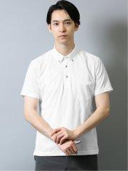 Biz ドライネクスト/DRYNEXT エンボスチェック 半袖ポロシャツ