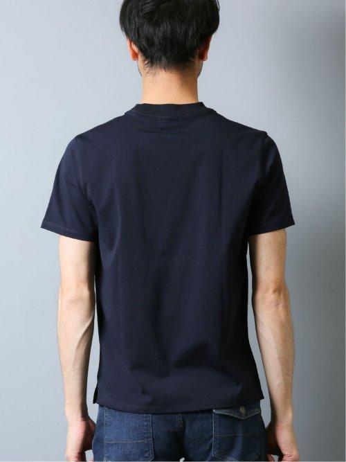 【DRESS T-SHIRT】シルケットポンチ クルーネック半袖Tシャツ