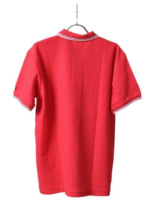 【大きいサイズ】グランバック/GRAND-BACK 鹿の子衿ライン 半袖ポロシャツ