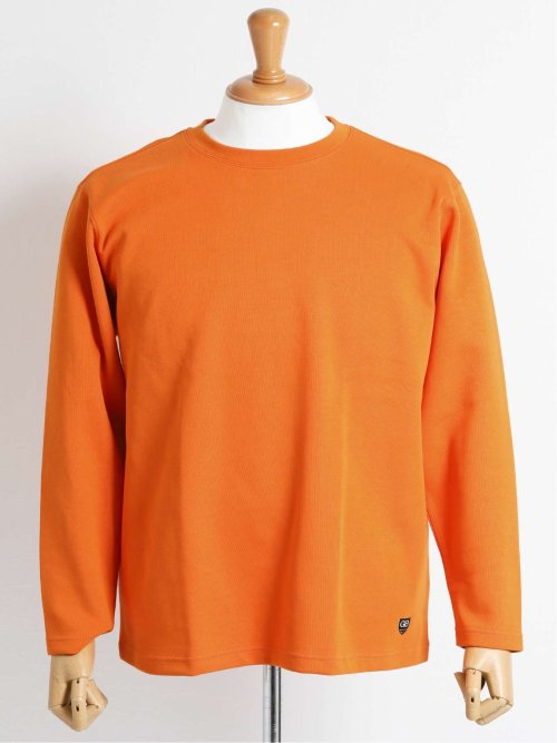 【大きいサイズ】グランバック/GRAND-BACK 無地クルーネック長袖Tシャツ