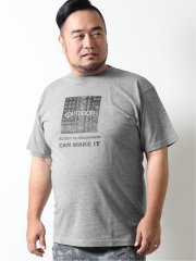 【大きいサイズ】アウトドアプロダクツ/OUTDOOR PRODUCTS 綿 クルーネック半袖Tシャツ
