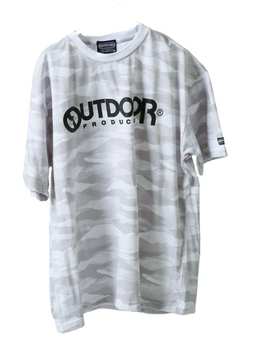 【大きいサイズ】アウトドアプロダクツ/OUTDOOR PRODUCTS 綿混 クルーネック半袖Tシャツ