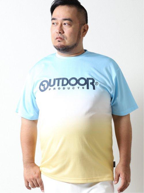 【大きいサイズ】アウトドアプロダクツ/OUTDOOR PRODUCTS ドライメッシュ クルーネック半袖Tシャツ
