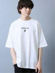 【WEB限定カラー有】カンゴール/KANGOL ワンポイントロゴ 半袖Tシャツ