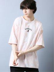【WEB限定】カンゴール/KANGOL アーチロゴ刺繍タイダイ 半袖Tシャツ