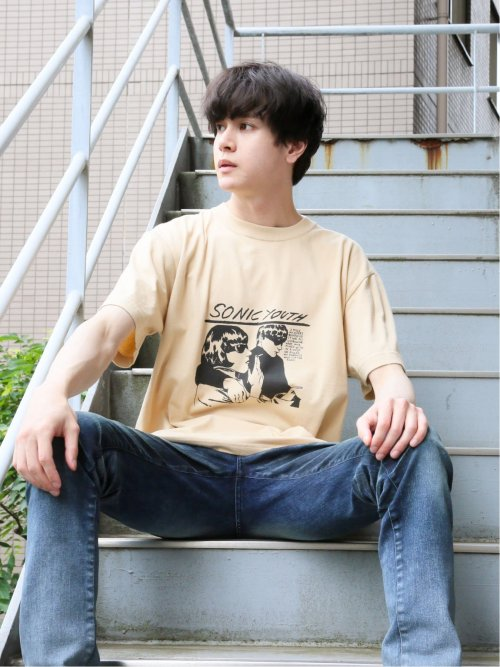 sonic youth 綿 クルー半袖Tシャツ Vol.1