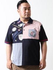 【大きいサイズ】カステルバジャック/CASTELBAJAC 半袖ポロ