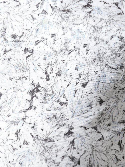【大きいサイズ】グランバック/GRAND-BACK 手書き風プリント 半袖ポロ