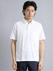Biz アルティマ/ALTIMA スキッパーボタンダウン半袖ポロシャツ
