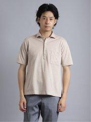 Biz アルティマ/ALTIMA スキッパー半袖ポロシャツ