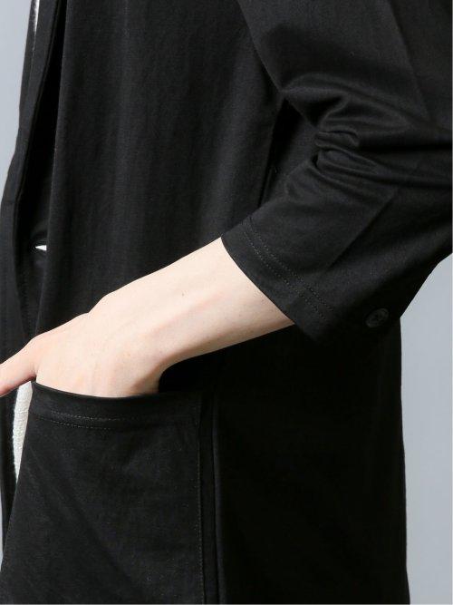 接触冷感 カノコ 7分袖ジャケット