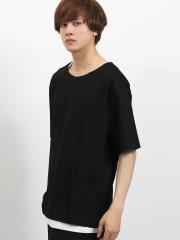 カルゼ半袖Tシャツ+タンクトップアンサンブル