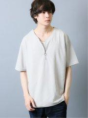 接触冷感 カノコ 半袖Tシャツアンサンブル