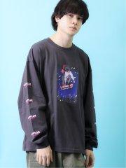 【WEB限定】TOMOWAKA×AIRWALK 天竺クルーネック長袖Tシャツ