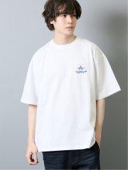 【WEB限定】TOMOWAKA×AIRWALK 天竺クルーネック半袖Tシャツ