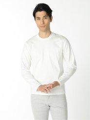 【DRESS T-SHIRT】シルケットコットン クルーネック長袖Tシャツ