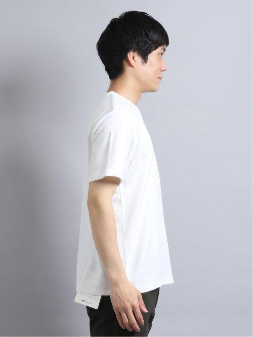 ダンボール天竺 クルーネック半袖ゆるTシャツ