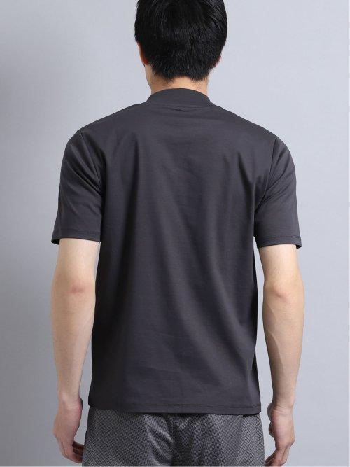 【DRESS T-SHIRT】シルケットコットン クルーネック半袖Tシャツ