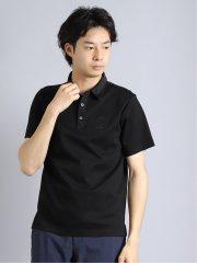 刺繍 半袖ポロシャツ