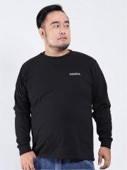【大きいサイズ】コンバース/CONVERSE フォトプリント クルーネック長袖Tシャツ