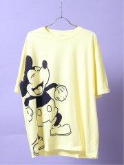【大きいサイズ】ディズニー/DISNEY クルーネック半袖Tシャツ