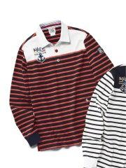 【大きいサイズ】シナコバ/SINA COVA 綿ラガーシャツ