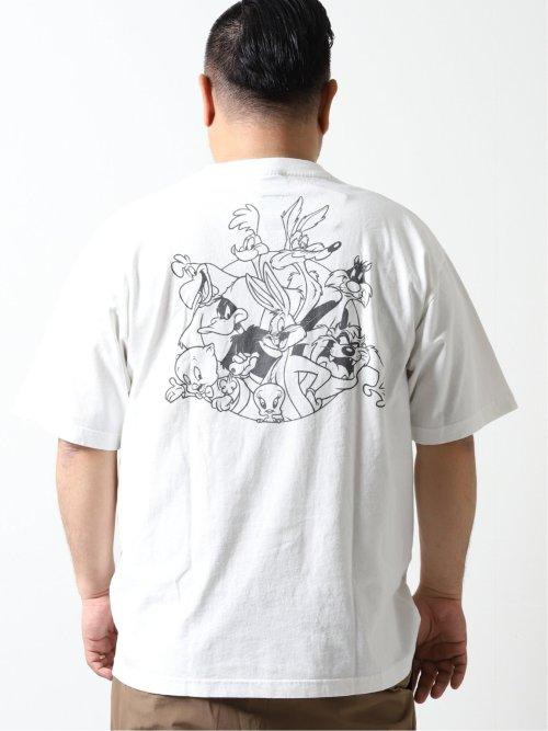 【大きいサイズ】アルファ・インダストリーズ/Alpha Industries クルーネック半袖Tシャツ