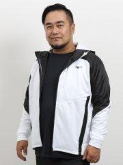 【大きいサイズ】ミズノ/MIZUNO ストレッチフリース ヘビーフルジップパーカー
