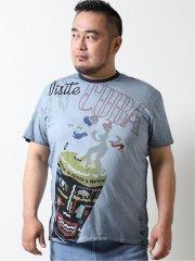 【大きいサイズ】デシグアル/Desigual キューバ 半袖Tシャツ