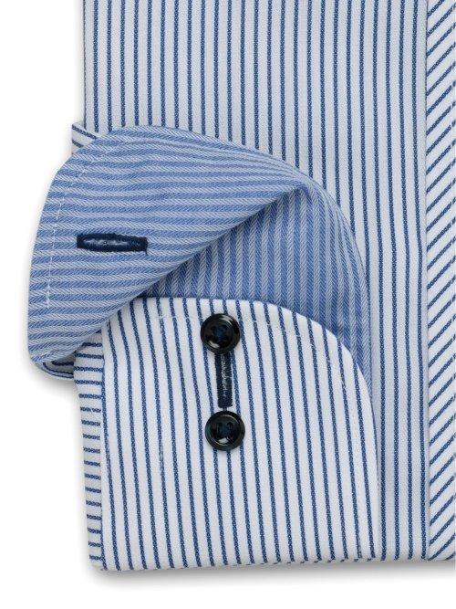 形態安定 吸水速乾 レギュラーフィット カッタウェイ長袖シャツ