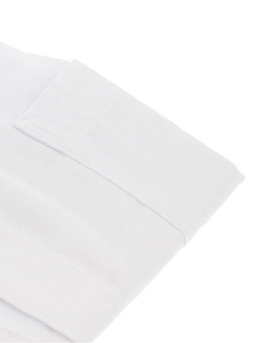 形態安定 吸水速乾 スリムフィット カッタウェイ長袖シャツ