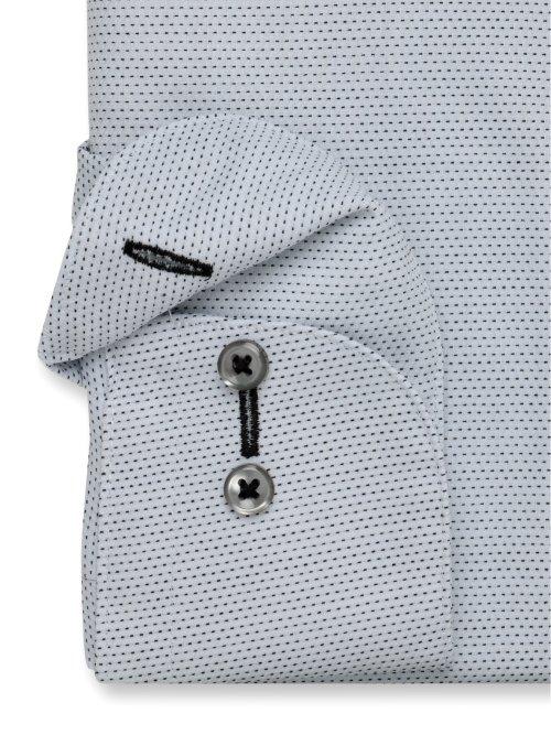 形態安定 吸水速乾 スリムフィット レギュラーカラー長袖シャツ